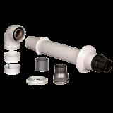 BaltGaz универсальный коаксиальный комплект для горизонтального прохода через стену d=60/100 мм, l=750 мм