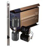 Комплект для поддержания постоянного давления со скважинным насосом Grundfos SQE 3-65