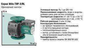 Циркуляционный насос Wilo Top S 30/10 EM PN6/10
