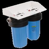 """Фильтр магистральный atoll I-21BB-e ECO. Фильтр двухступенчатый для холодной воды 2хBig Blue 20"""" (бе"""