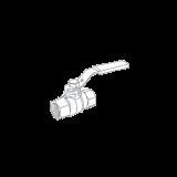"""Кран шаровый Royal Thermo EXPERT для газа 3/4"""" вн-вн, ручка-рычаг"""