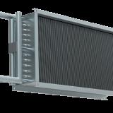 Водяной нагреватель для прямоугольных каналов WHR 700*400-3