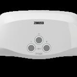 Водонагреватель проточный Zanussi 3-logic 6,5 T (кран)
