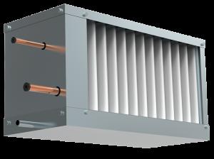 Фреоновый охладитель для прямоугольных каналов WHR-R 700*400-3