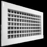Настенная двухрядная решетка Shuft 2 WA 400*100
