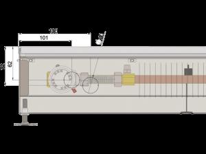 Конвектор напольный MINIB PT 80 L=900 без вентилятора