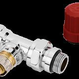 "Клапан терморегулирующий прямой хромированный RA-NCX Ду 15мм (1/2"")"