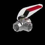 "Кран шаровый Royal Thermo Optimal трехходовой тип L 1/2"""