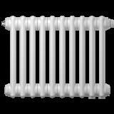 Радиатор трубчатый Zehnder Charleston Retrofit 3037, 16 сек.1/2 бок.подк. RAL9016 (кроншт.в компл)