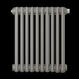 Радиатор трубчатый Zehnder Charleston Retrofit 3057, 8 сек.1/2 ниж.подк. RAL0325 TL (кроншт.в компл)
