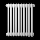 Радиатор трубчатый Zehnder Charleston Retrofit 3057, 18 сек.1/2 бок.подк. RAL9016 (кроншт.в компл)